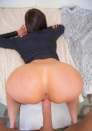 Babe Perfect Ass Sucks Dick