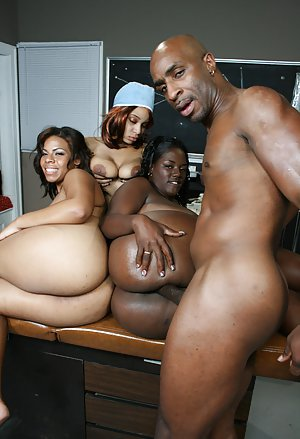 Big booty group sex